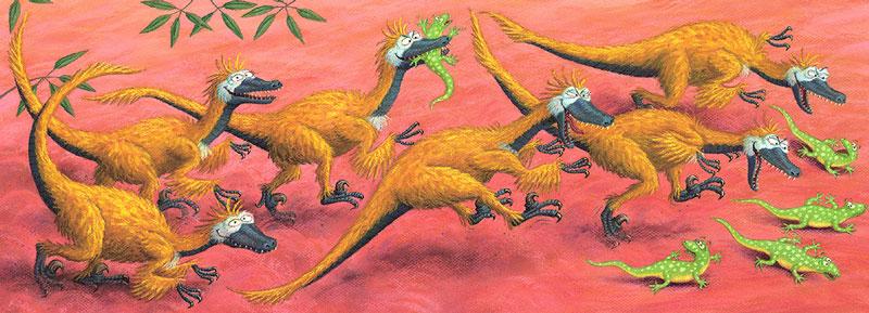 Dinosaur specialist